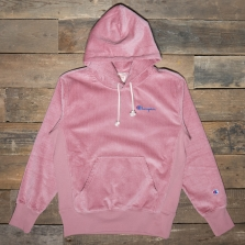 CHAMPION 213691 Hooded Cord Sweatshirt Ps123 Pink