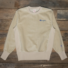 CHAMPION 213690 Cord Sweatshirt Ms024 Sand