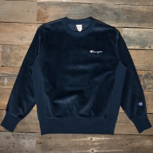 CHAMPION 213690 Cord Sweatshirt Bs501 Navy