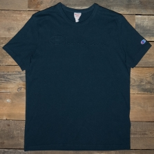 CHAMPION 213697 Embossed Logo T Kk015 Navy