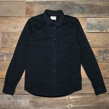 NUDIE 140426 Henry Batiste Garment Dye Shirt Black