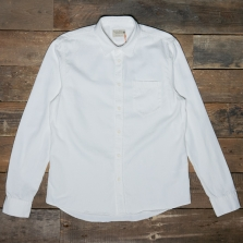 NUDIE 140501 Henry Pigment Dyed Shirt White