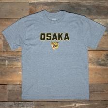 EBBETS FIELD FLANNELS Osaka Tigers 1950 T Shirt Grey