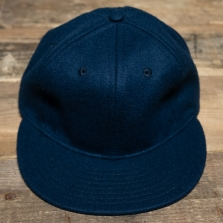 EBBETS FIELD FLANNELS Ebbets Field Wool Vintage Cap Navy