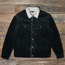 LEE Sherpa Rider Jacket Black