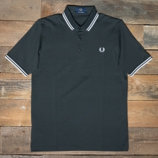 Fred Perry M102 Made In Japan Pique Shirt 686 Anthracite