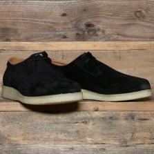 PADMORE & BARNES P500 Shoe Suede Black
