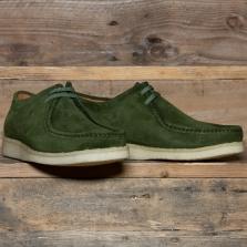 PADMORE & BARNES P204 Shoe Suede Kelp