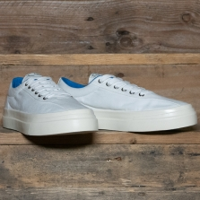 STEPNEY WORKERS CLUB Dellow M Canvas White Blue