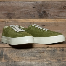 STEPNEY WORKERS CLUB Dellow M Suede Military