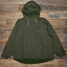 Fred Perry J7523 Ripstop Half Zip Jacket G78 Dark Thorn