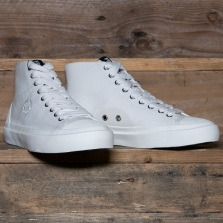 Fred Perry B7145 Hughes Mid Canvas 760 Light Ecru