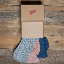 Red Wing 97061 Cotton Ragg 3 Pack Sock Box Multi