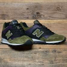 New Balance Made in UK M577gpk Made In England Green Purple Black