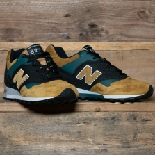 New Balance Made in UK M577tgk Made In England Tan Green Black