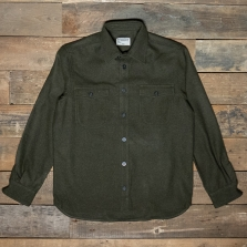 PIKE BROTHERS 1943 Cpo Wool Shirt Olive