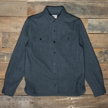 PIKE BROTHERS 1943 Cpo Wool Shirt Grey