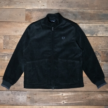 Fred Perry J7537 Cord Harrington 102 Black