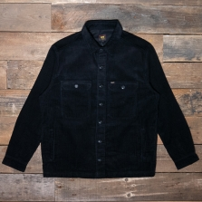 LEE Jumbo Cord Overshirt Black