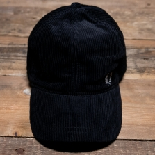 Fred Perry Hw7648 Cord Cap 102 Black