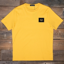 Fred Perry M7599 Acid Brights T Shirt J20 Modern Yellow
