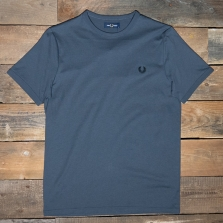 Fred Perry M3519 Ringer T Shirt 491 Charcoal