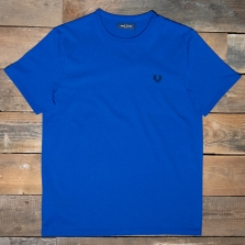 Fred Perry M3519 Ringer T Shirt I88 Bright Regal