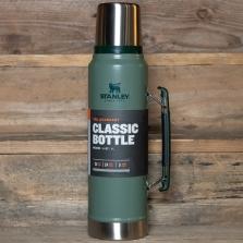 STANLEY Classic Vacuum Bottle Hammertone Green