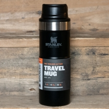 STANLEY Classic Trigger Action Travel Mug 0.47l Matte Black