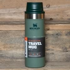 STANLEY Classic Trigger Action Travel Mug 0.47l Hammertone Green