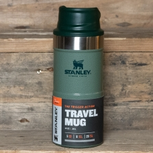 STANLEY Classic Trigger Action Travel Mug 0.35l Hammertone Green