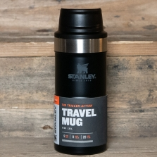 STANLEY Classic Trigger Action Travel Mug 0.35l Matte Black