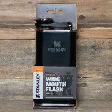 STANLEY Classic Easy Fill Wide Mouth Flask Matte Black