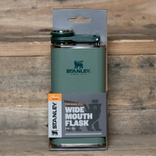 STANLEY Classic Easy Fill Wide Mouth Flask Hammertone Green