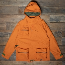 HAWKWOOD MERCANTILE Knu Cotton Smock Orange