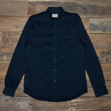 NUDIE 140501 Henry Pigment Dyed Shirt Navy