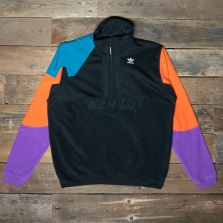 adidas Originals Fm3680 Half Zip Black