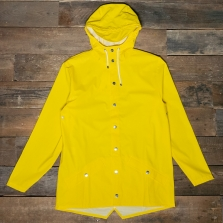 Rains Waterproof Jacket 04 Yellow