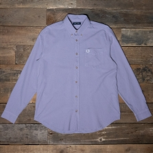 Fred Perry M8589 Overdyed Shirt K08 Dark Lavendar