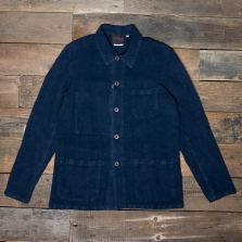 VETRA Number 4 Short Work Jacket Linen 2l55 Navy