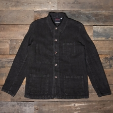 VETRA Number 4 Short Work Jacket Linen 2l27 Elk