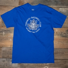EBBETS FIELD FLANNELS Toronto Maple Leafs 1923 T Shirt Royal Blue