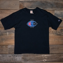 CHAMPION 214420 Crewneck Print T Shirt Kk001 Black