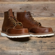 Red Wing 01907d Moc Boot Copper Rough And Tough
