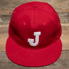 EBBETS FIELD FLANNELS Juarez Indios 1950 Cap Red