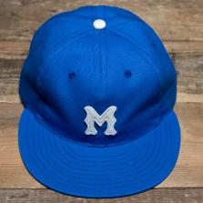 EBBETS FIELD FLANNELS Montreal Royals 1946 Cap Royal Blue