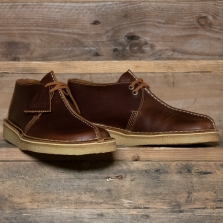 Clarks Originals Desert Trek Leather Tan
