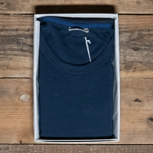 SCHIESSER REVIVAL Karl-heinz T Shirt Dark Blue