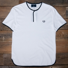 Fred Perry M9803 Henley 129 Snow White