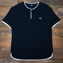 Fred Perry M9803 Henley 608 Navy